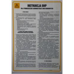 Instrukcja BHP dla pomieszczeń Administracyjno-Biurowych.