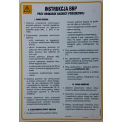 Instrukcja BHP przy obsłudze gaśnicy proszkowej.