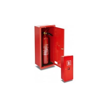 Szafka ochronna na 1 gaśnicę wnękowa: GP-500,GP-600,GP-700,GP-800,GP-900