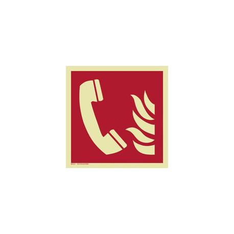 F006 Telefon alarmowania pożarowego