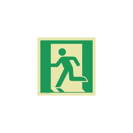 E001 Wyjście ewakuacyjne (lewostronne)