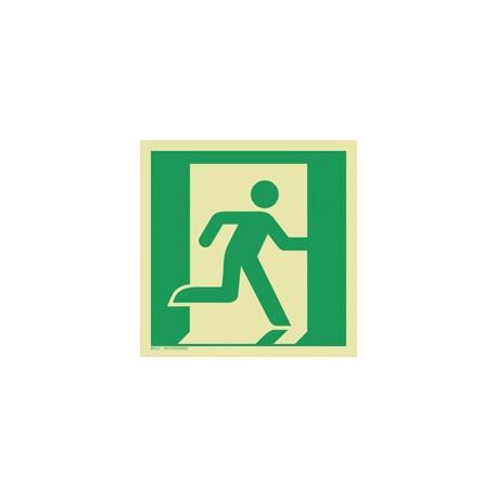 E002 Wyjście ewakuacyjne (prawostronne)