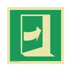 E023 Pchać aby otworzyć drzwi (prawe)