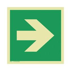 E005 Kierunek drogi ewakuacyjnej (90)