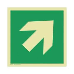E006 Kierunek drogi ewakuacyjnej (45)