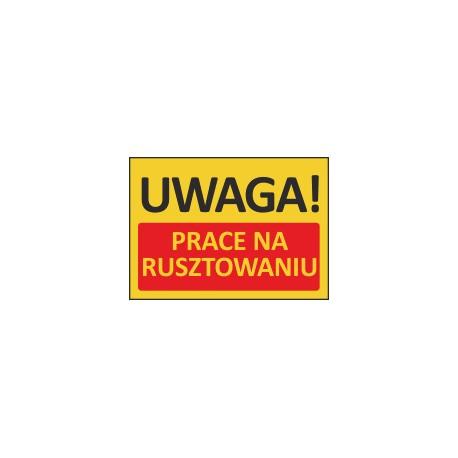 T410 UWAGA! Prace na rusztowaniu
