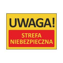T423 UWAGA! Strefa niebezpieczna