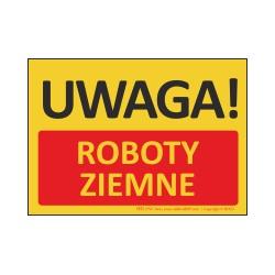 T432 UWAGA! Roboty ziemne