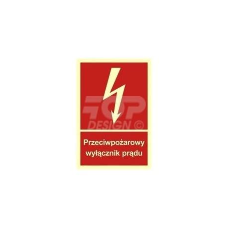 BB012 Przeciwpożarowy wyłącznik prądu