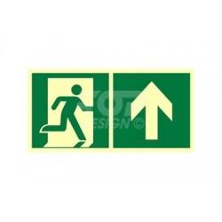AE095 Kierunek do wyjścia ewakuacyjnego w górę (prawy)