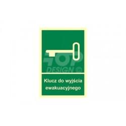AC026 Klucz do wyjścia ewakuacyjnego