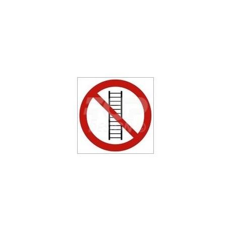 GA007 Zakaz używania drabiny