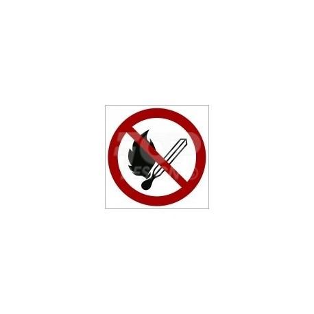 GP003 Zakaz używania ognia otwartego