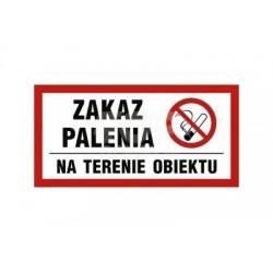 NC008 Zakaz palenia na terenie obiektu