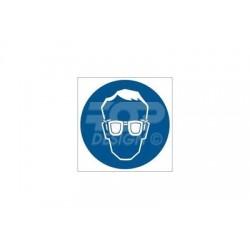 GJ002 Nakaz stosowania ochrony oczu
