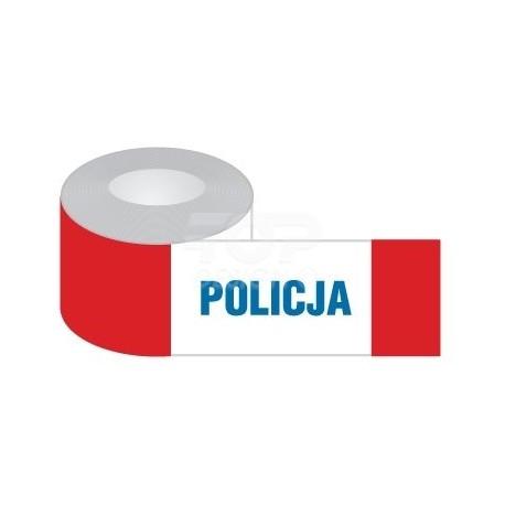 Taśma ogrodzeniowa 'Policja'